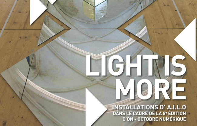 Exposition Octobre numérique - Light is More